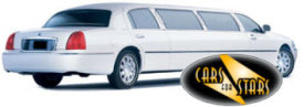 Limo Hire Baxley - Cars for Stars (Stoke on Trent) offering white, silver, black and vanilla white limos for hire